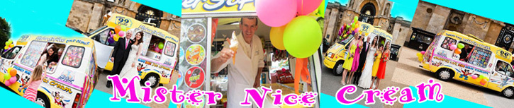 Mister Nice Cream - Best Ice Cream for Wedding Balls Parties in Oxfordshire United Kingdom